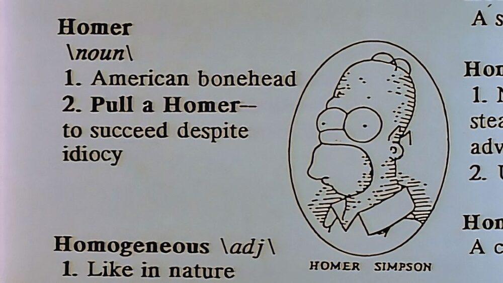 Hacer un Homer