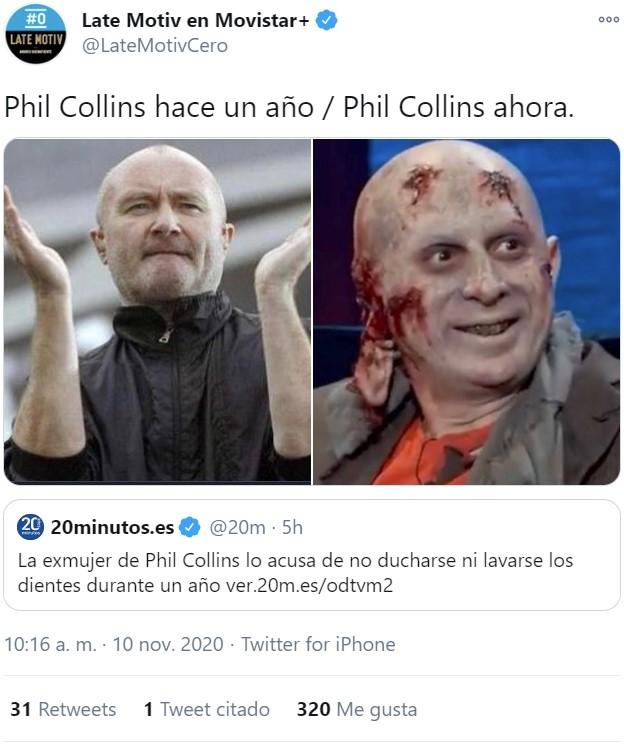 Breaking News: Phil Collins es otaku