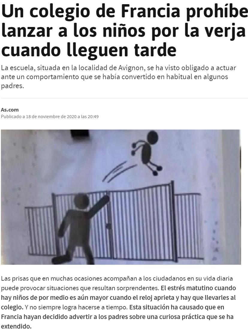 No es de El Mundo Today...
