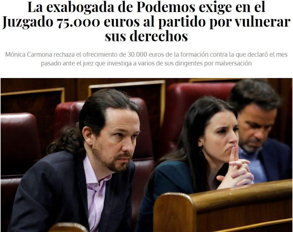 Qué mala suerte tiene Podemos con sus abogados... como el PP con sus tesoreros...