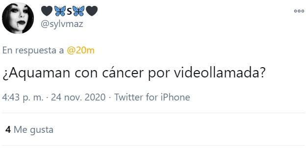 Cáncer por videollamada, uno de los tipos más raros de cáncer.