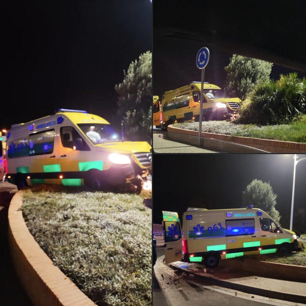 ¿A quién se le ocurre robar una ambulancia, y más en servicio de urgencias?