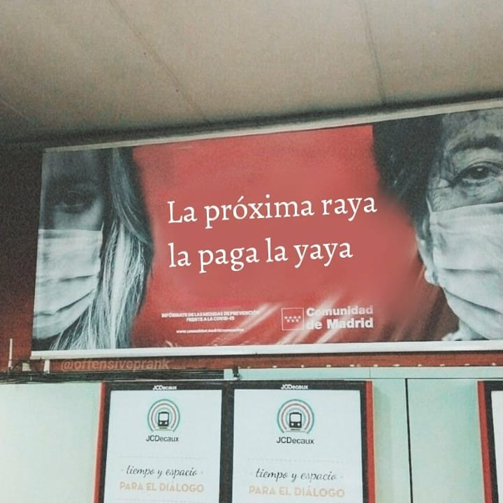 Madre mía la campaña de la comunidad de Madrid...