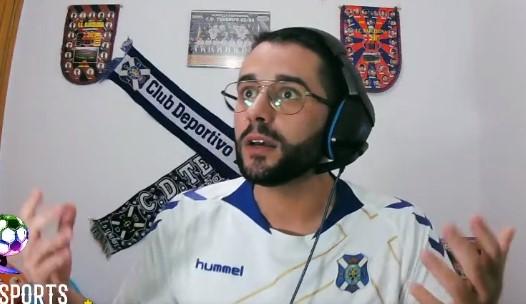 Cantadita premium de Ortolá, portero en el UD Las Palmas