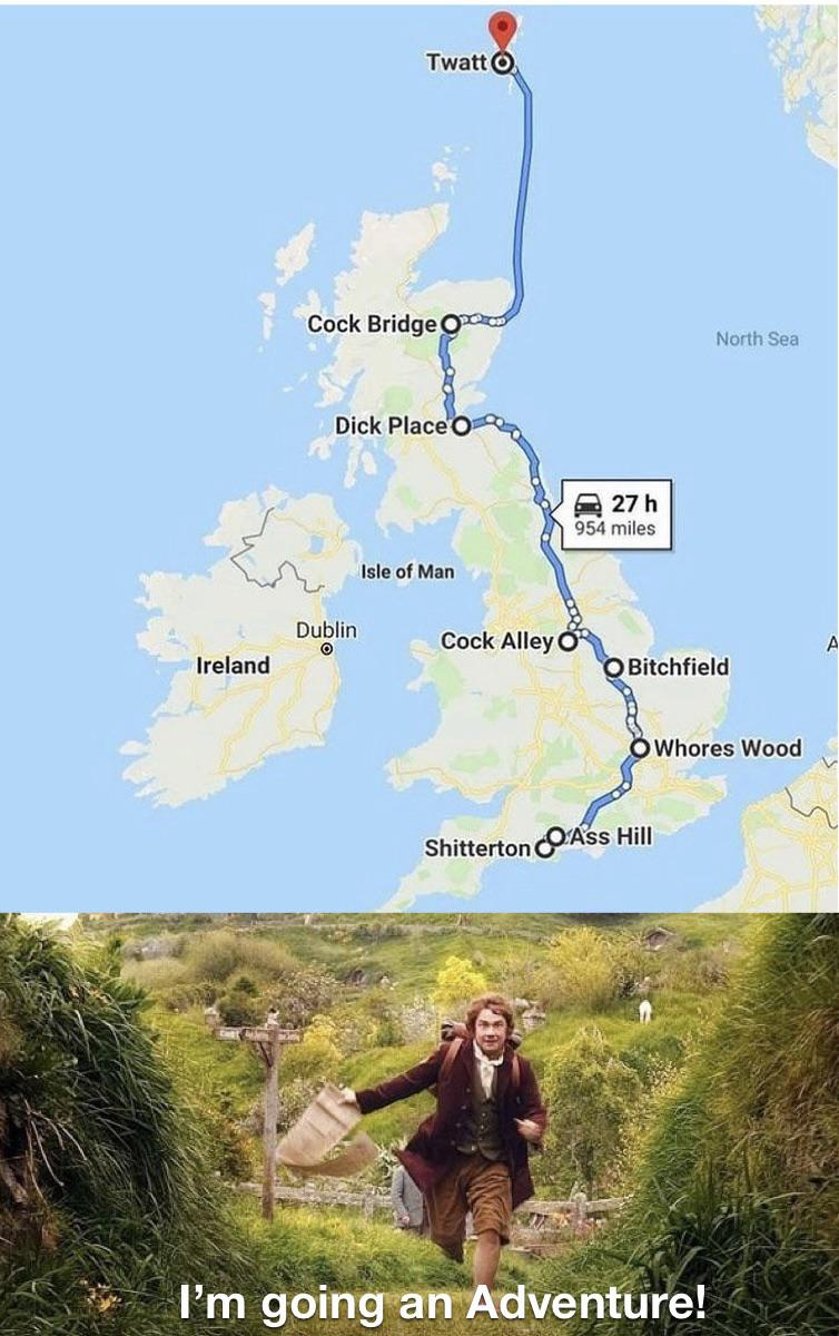 La ruta del marraneo en UK