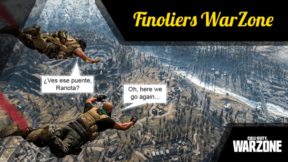 Partidas privadas con finoliers en Warzone: ¡Por fin podréis matarme!