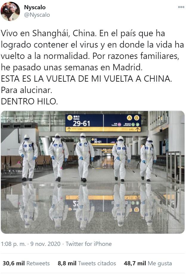 Diferencias entre China y España a la hora de introducir gente a sus países durante la gestión de la pandemia
