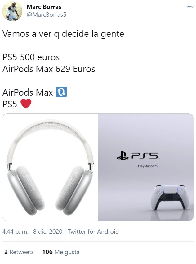 Los nuevos auriculares Airpods Max cuestan 629€