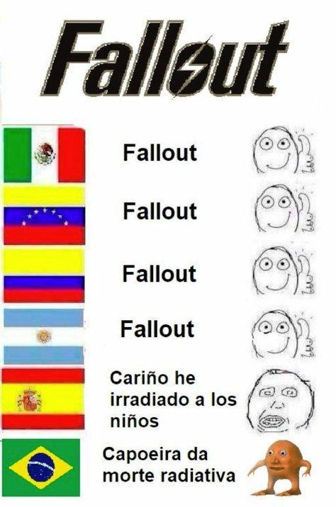 Me avergüenzo de mi país, pero podría ser peor... podría ser brasileño.