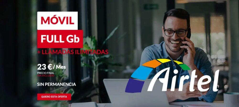 Vuelve Airtel aprovechando que a Vodafone se le olvidó renovar la marca