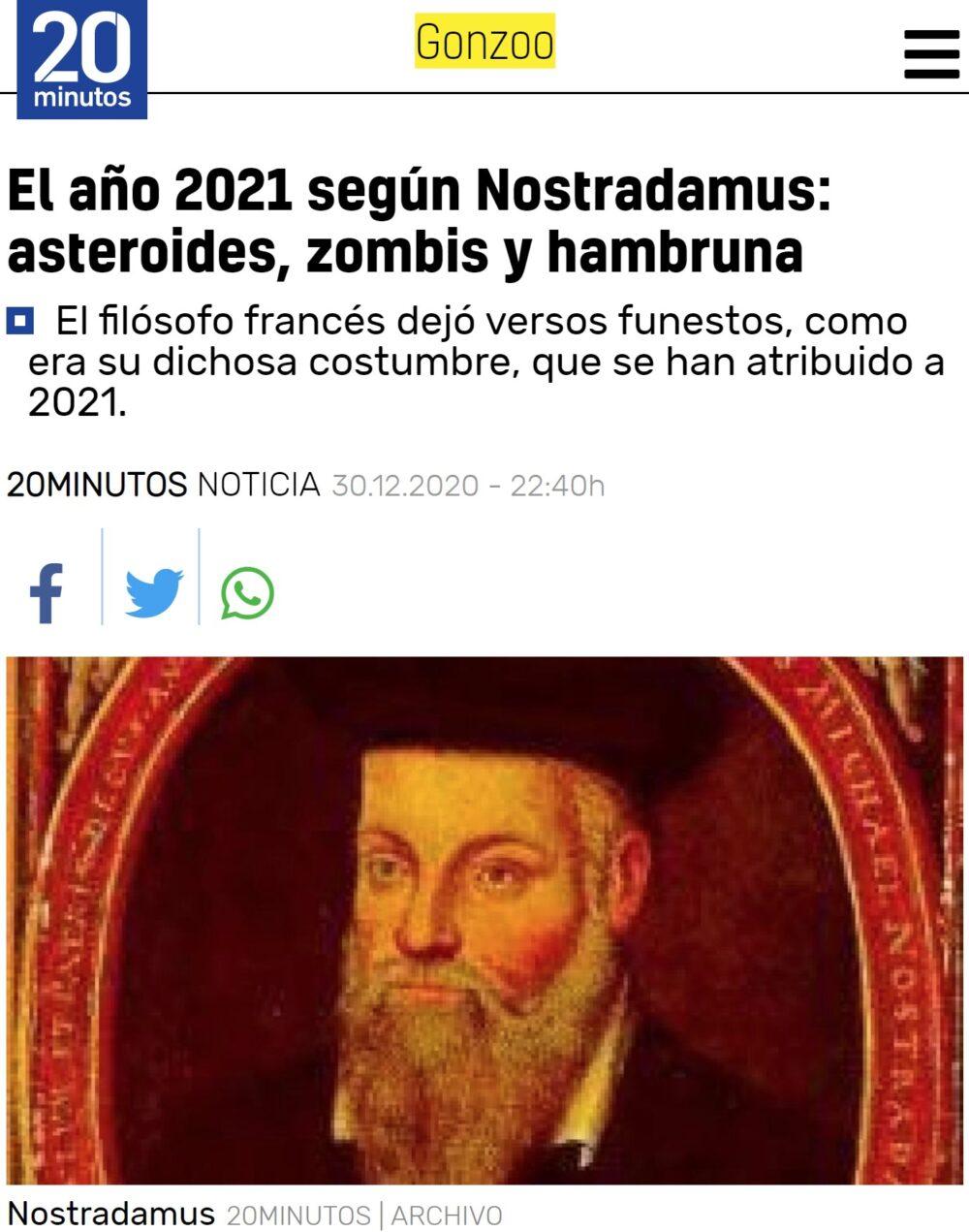 El 2021 viene calentito...