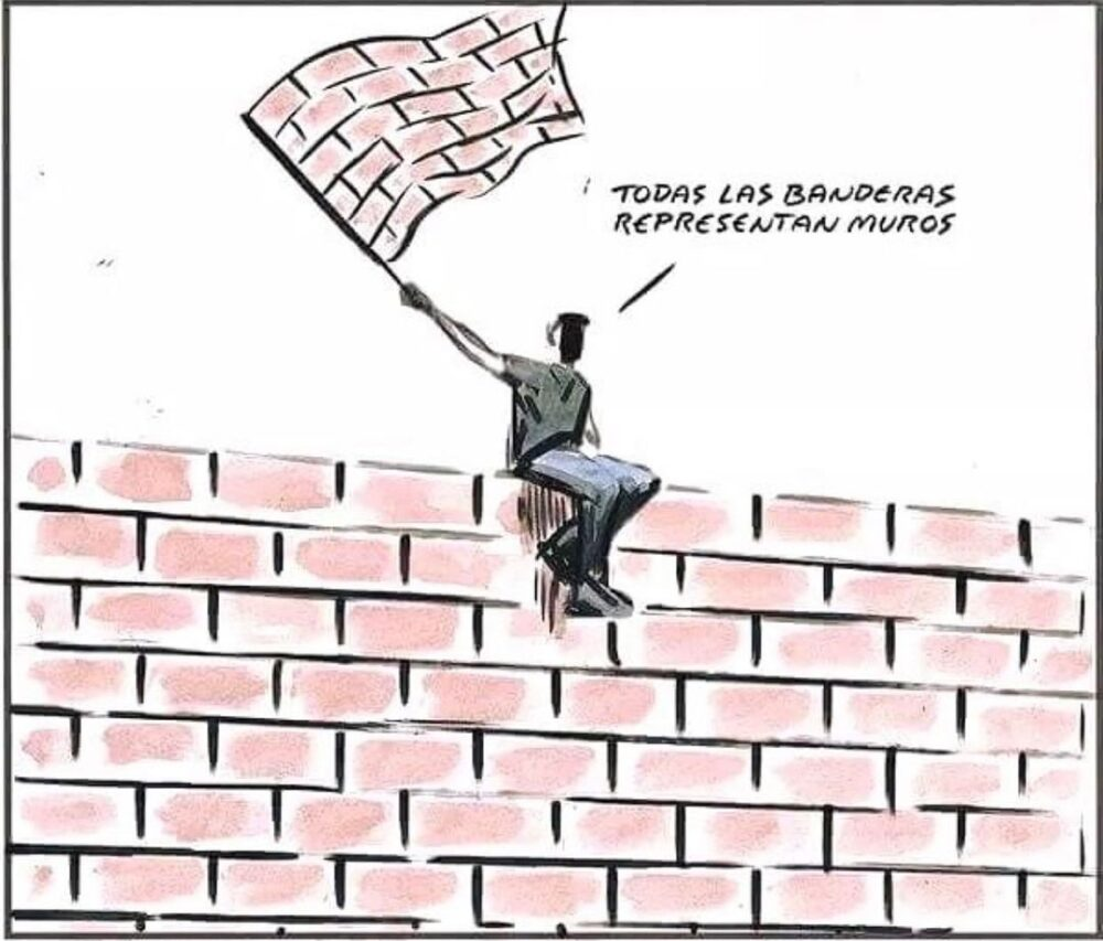 Las banderas son como la ketamina: te venden que es para un uso saludable, pero se acaba usando para otra cosa no tan saludable...