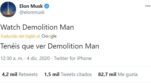 Llevo años diciéndolo... Demolition Man acierta más que Nostradamus