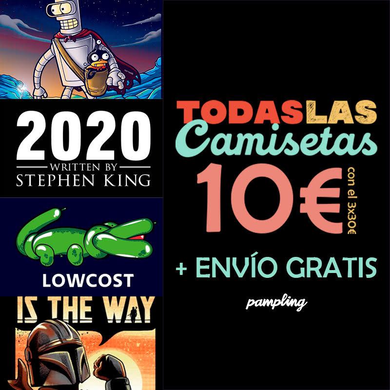 Ojo al banner analógico que ha colgado Pampling en Sevilla :D