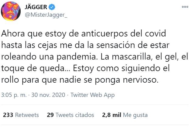 Estoy igual que Jagger