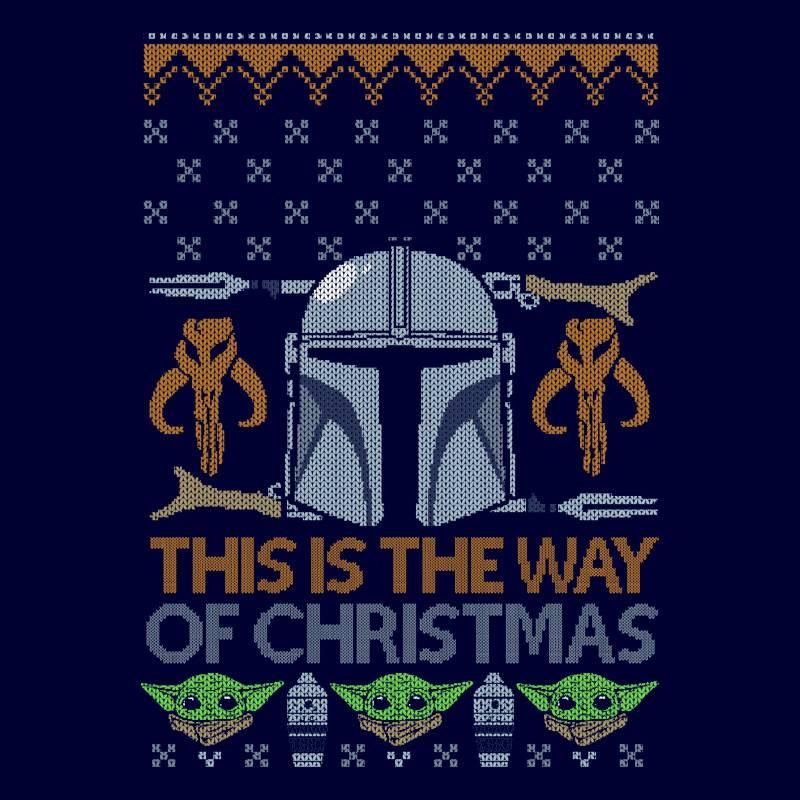 Camseta The Manda... ¡This is the way of Christmas!