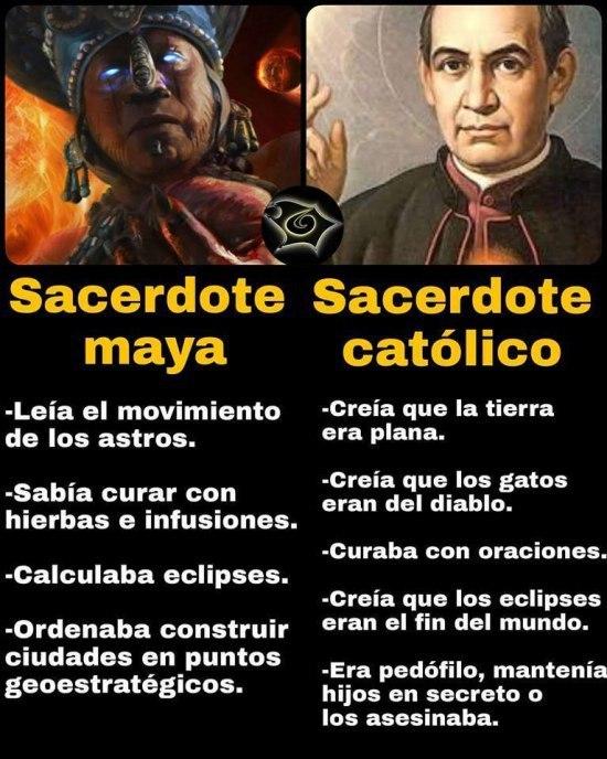 Bueno… del sacerdote católico no hace falta ponerlo todo todo en pasado…