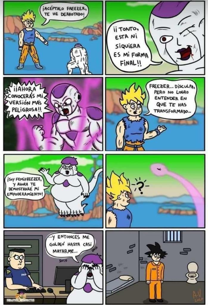 Goku no contaba con la última transformación de Freezer