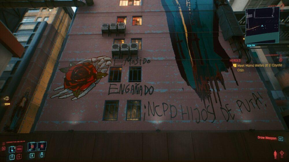 """""""EMOSIDO ENGAÑADO"""" aparece en CyberPunk 2077 tras haberlo hecho en PUBG: potencialmente, el meme más popular en español"""