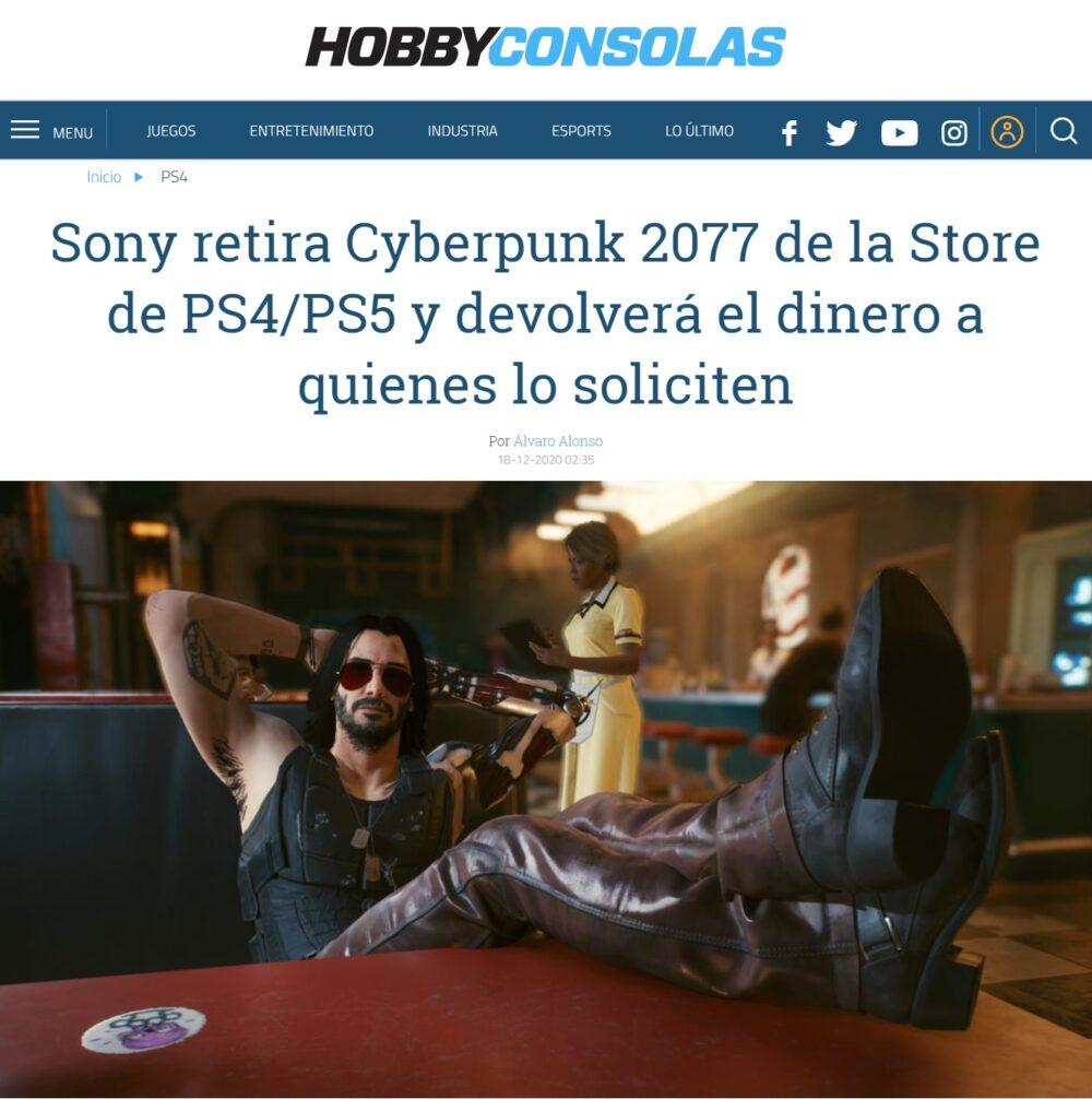 "Sony a CD Project: ""Venga, cuando lo tengáis acabado me volvéis a llamar"""