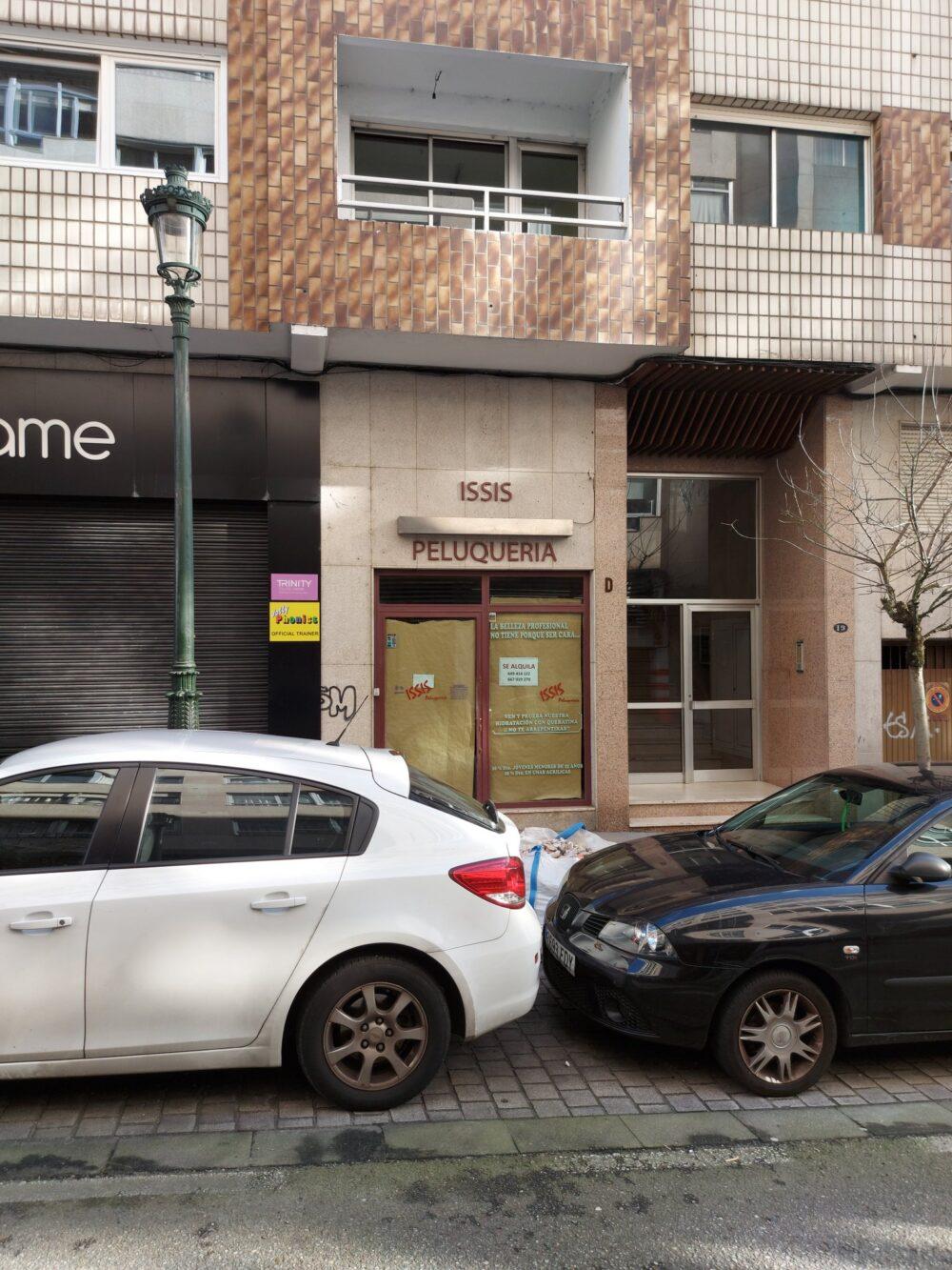 Ha chapado la peluquería ISSIS de Vigo