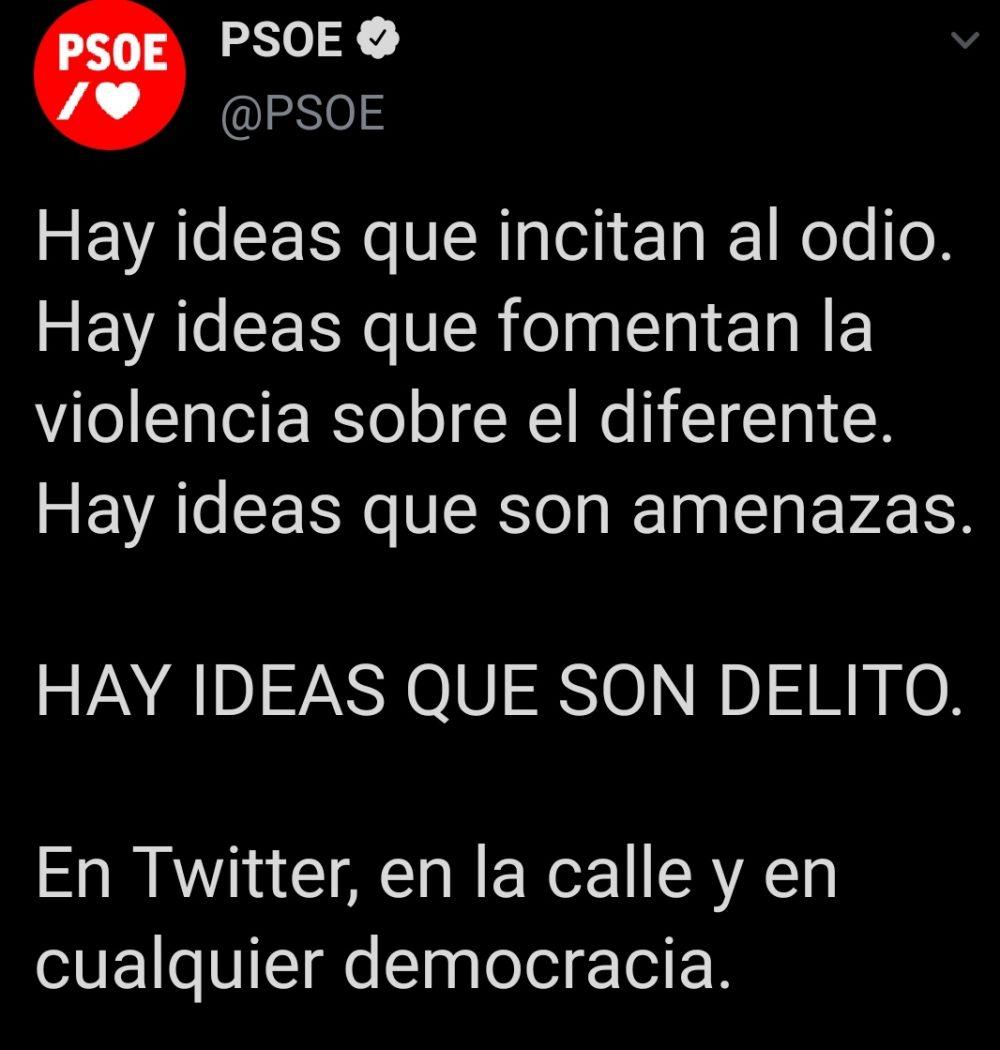 El PSOE se prepara para activar Minority Report