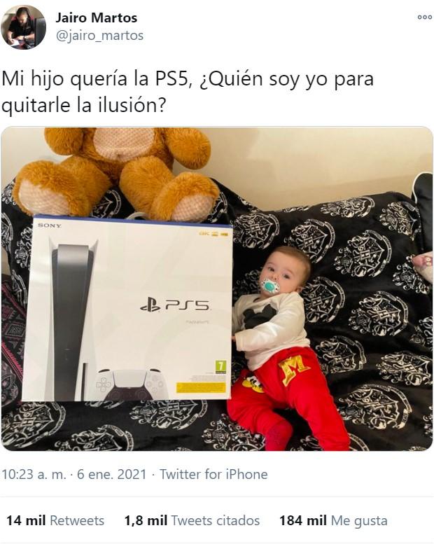 """""""Mi hijo quería la PS5"""""""
