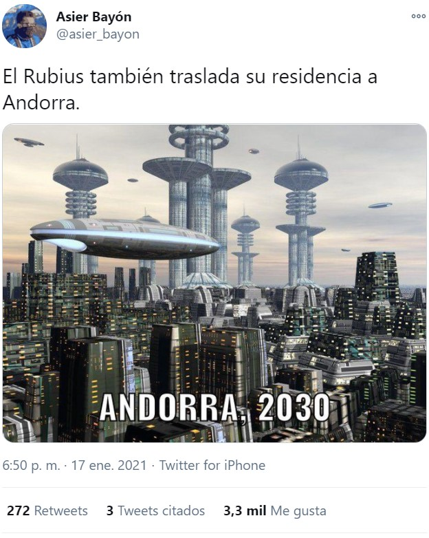 El Rubius ha decidido irse a Andorra: Recopilatorio de gente echándole heces