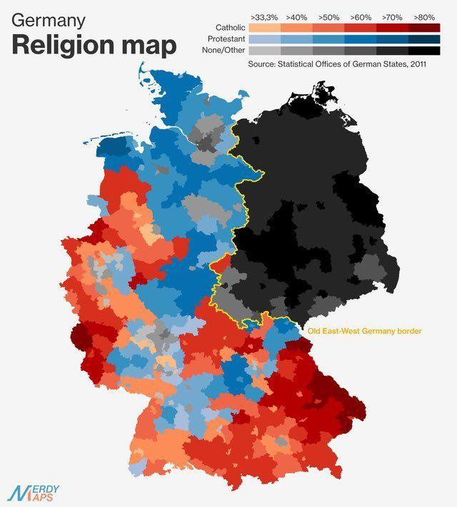 Parece que los alemanes también tienen un muro que separa los Siete Reinos de las tierras salvajes de más allá