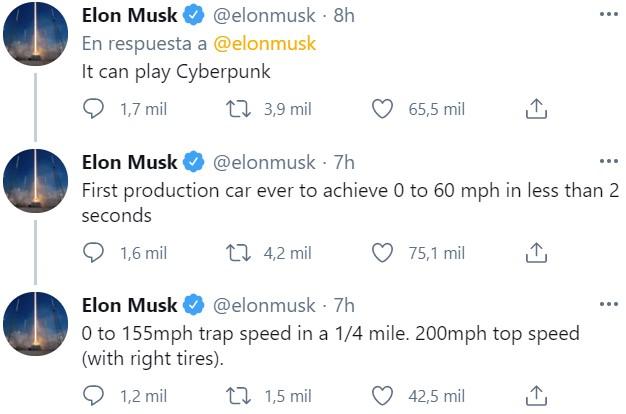 El Tesla Model S Plaid ya está listo: 0-100 en menos de 2 segundos y 320km/ de velocidad punta