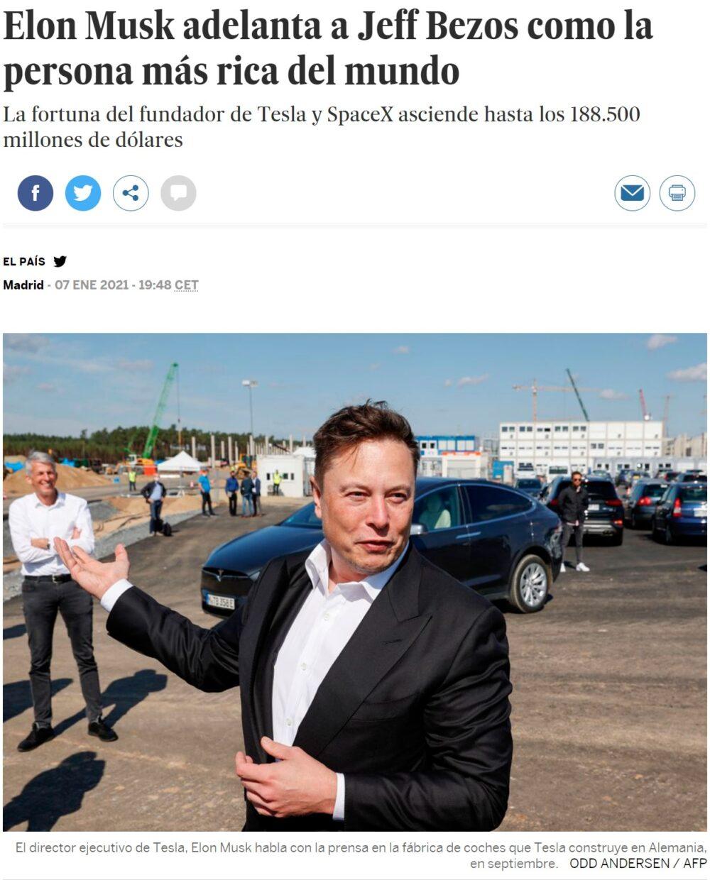 Buenos días a todos, sobre todo a Elon Musk