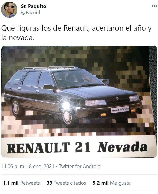 Los de Renault lo clavaron