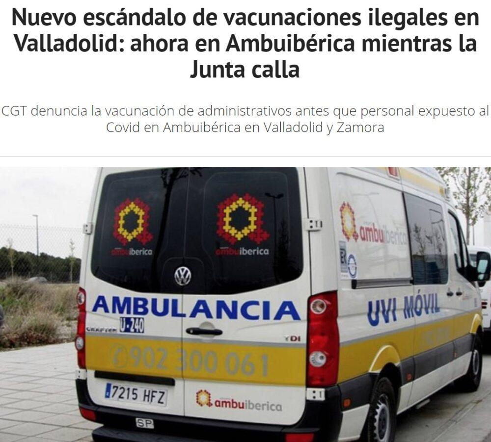 Nueva ronda de infraseres que le han quitado la vacuna a gente de riesgo
