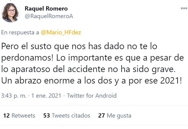 ¿Se ha creído la gente de Twitter la historia que ha contado el director de participación  de Podemos sobre su accidente? Veamos...