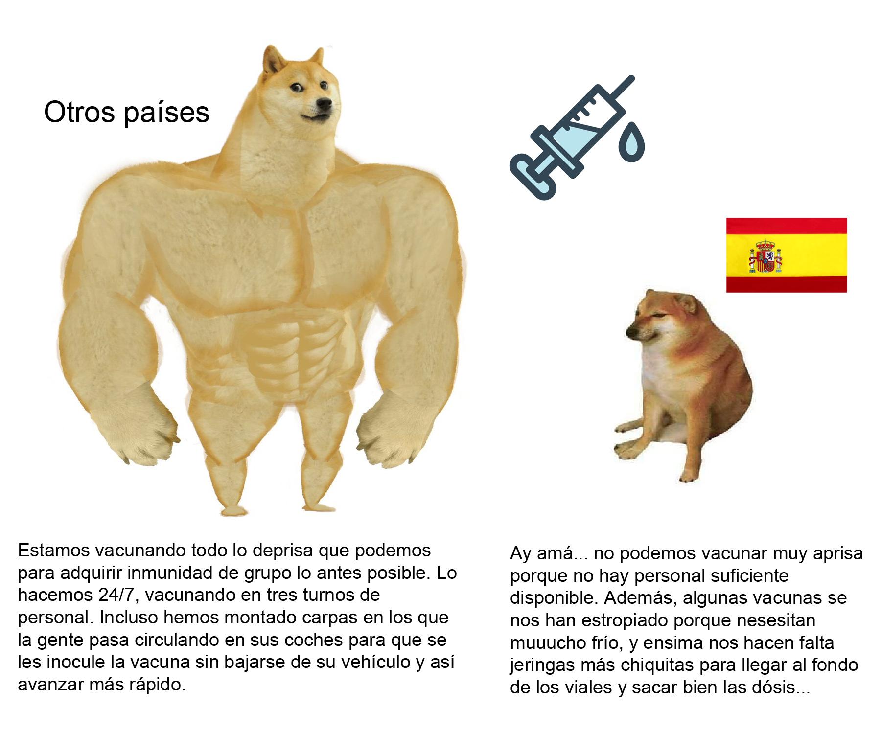Vacunación: España vs otros países