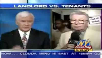 Ojo al pique que hay entre el reportero y el presentador...