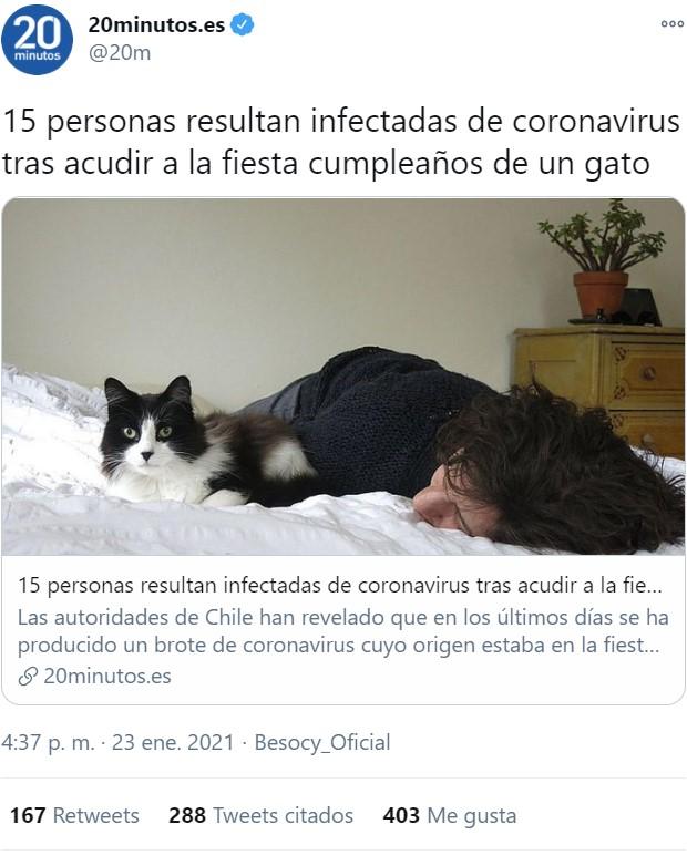 En la carrera por la extinción, en Chile nos llevan un poquito de ventaja...