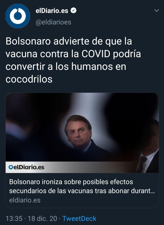 Si los brasileños y los rusos tienen razón, dentro de un par de años en Europa habrá una gran guerra entre monos zombis y cocodrilos humanoides