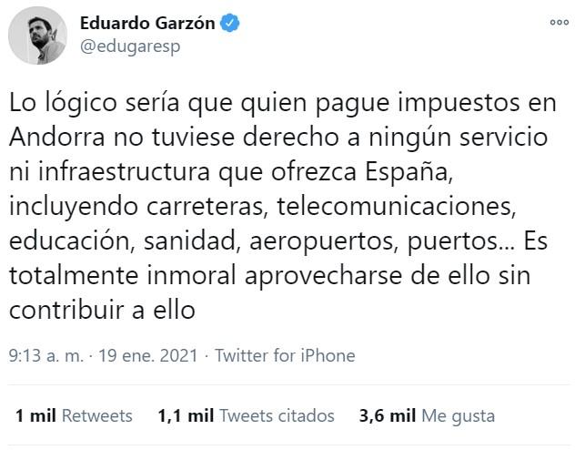 """Eduardo Garzón: """"ESPAÑA PARA LOS ESPAÑOLES"""""""