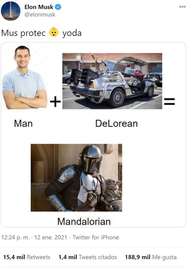 Mood Elon Musk: ¿Que pierdo 13.500 millones de euros en un día? Pos me pongo a compartir memes sidosos por Twitter :D