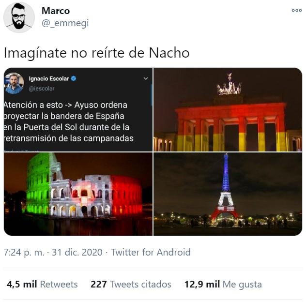 Oh dios mío una bandera de España, NOOOOOOOOOO!!!!!