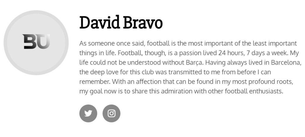 Cuando apareces en un vídeo inglés supuestamente hablando del Barça, y en realidad tú no has comentado fútbol en tu vida