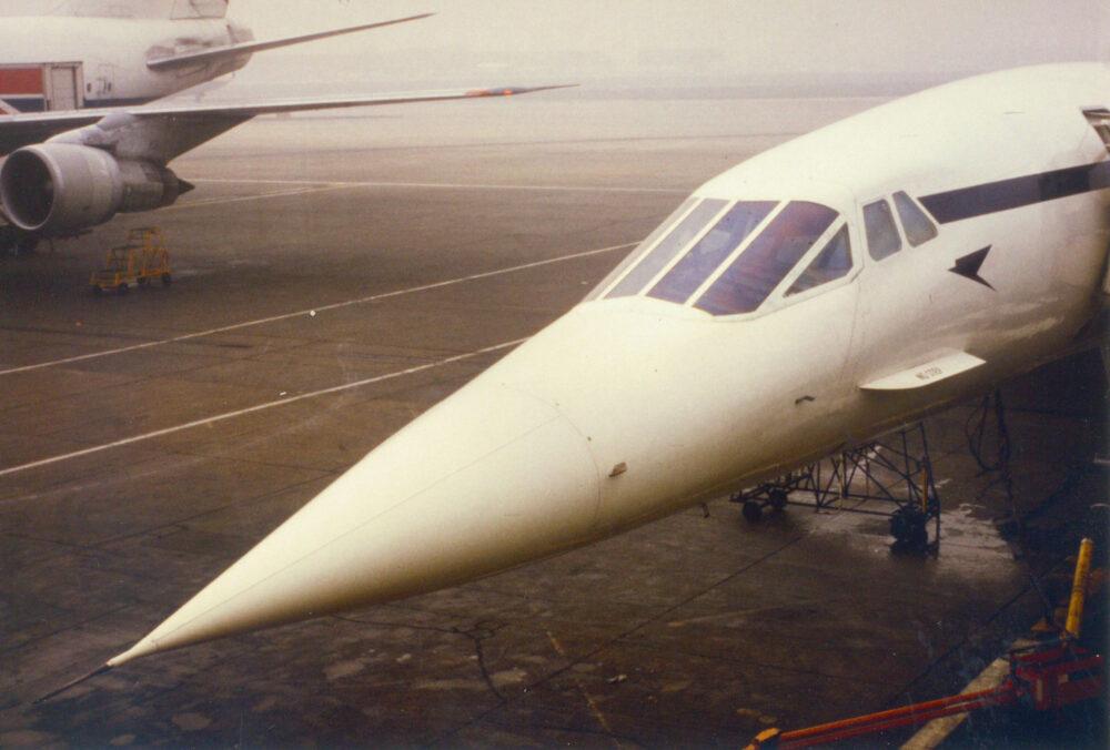 Curiosidades cortas: ¿Por qué el Concorde tenía el morro inclinado hacia abajo?