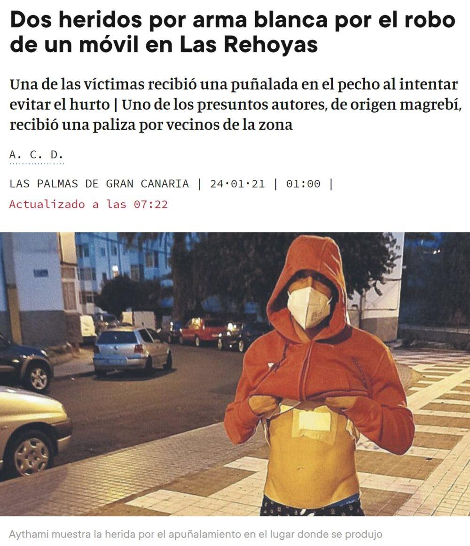 Noche de antorchas en Las Palmas
