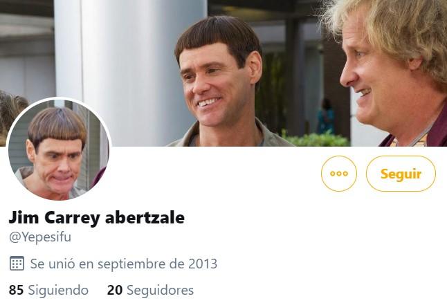 """Tranquilo Fino, Jim Carrey Abertzale no existe"""