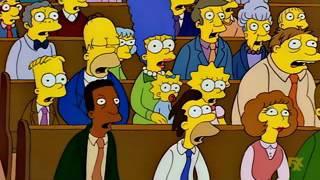 El tuit que emocionó a Springfield