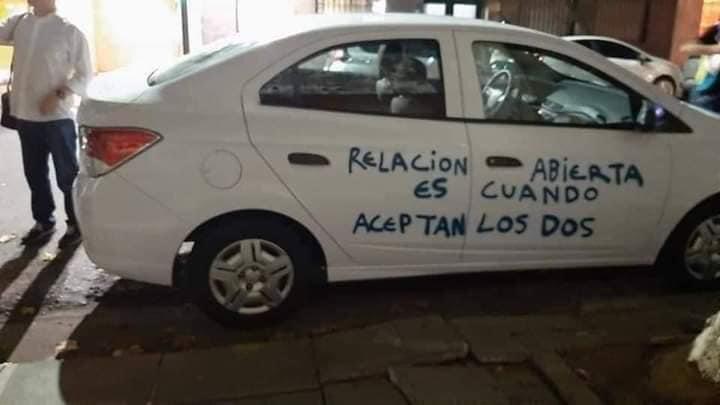 """""""Relación abierta es cuando aceptan los dos"""""""