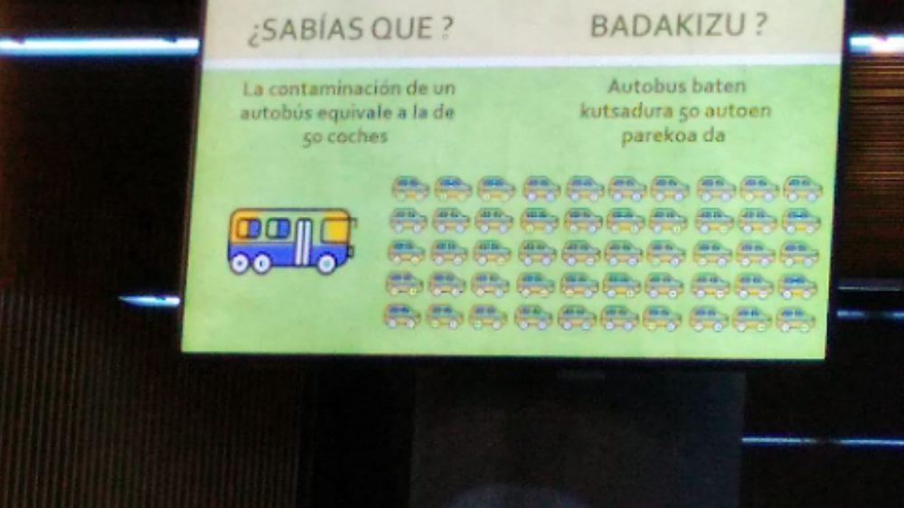 La paradoja de la contaminación y el transporte público