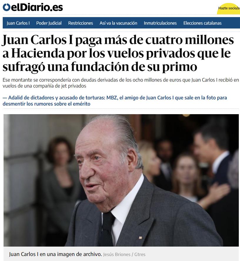 Hacienda sigue su persecución implacable a JuancarlusOMG