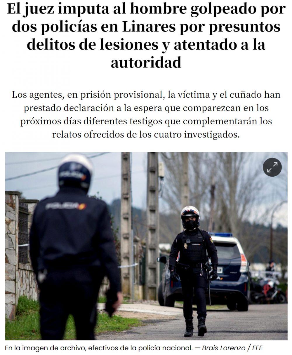 Plot twist en Linares